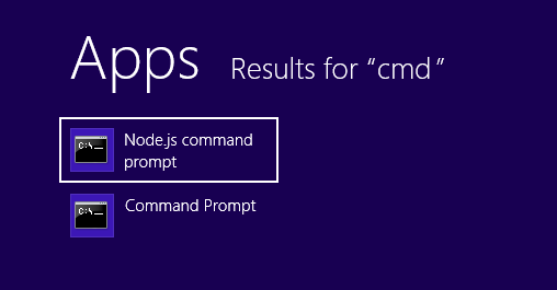 nodejs-command-win