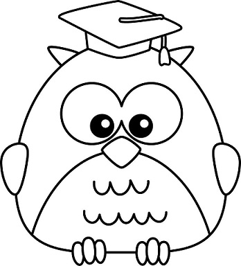 kindergarten-graduation-owl-clip-art-Jaded-Blossom-Coloring-Pages-Of-Owls-Kids-Coloring-Pages