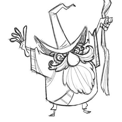 wizard-warm-up-sketch-doodle-characterdesign-magic